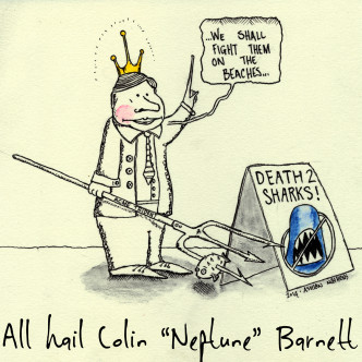 "All hail Colin ""Neptune"" Barnett"