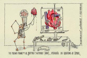 Dr. Geoffrey P. Nutterbolt (robot)